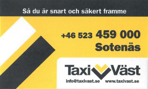 Taxiväst